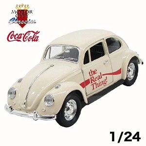 COCA-COLA 1/24 1996VWビートル The real thing