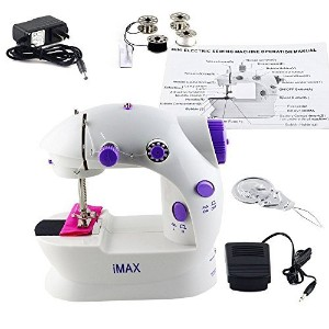 Sewing Machine,LSS-202,Mini 2-Speed Double Thread, Double Speed, Portable Sewing Machine With Light...