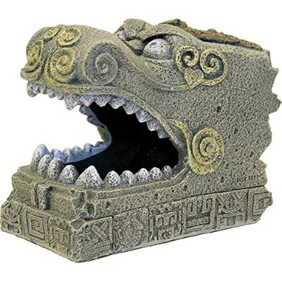 BLUE RIBBON PET PRODUCTS EE-5646 Exotic Environments Serpent Head Tomb by Blue Ribbon
