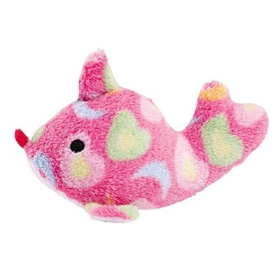 Zanies Sea Charmer Fish Pet Toy, Pink