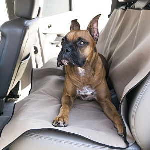 Tan Universal Waterproof Back Seat Cover By Majestic Pet Products by Majestic Pet