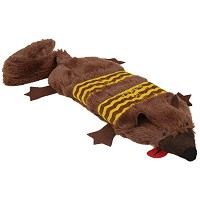Grriggles Road Crew Unstuffy Gopher Pet Toy by Grriggles
