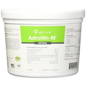 Adroitin-M Joint Soft Chews for Dogs - 120 chews by Vet One
