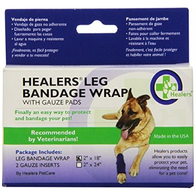 HEALERS Small Leg Wraps - 18-Inch, Blue by HEALERS