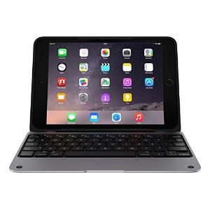 ClamCase PRO Keyboard Case for iPad Mini, 1, 2, 3 (Smoke/Black) INCIPIO キーボードケース