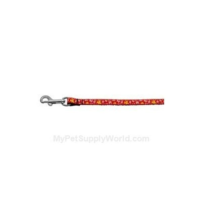 Mirage Pet Products 125-005 3806RD Butterfly Nylon Ribbon Collar Red .38 wide 6Ft Lsh