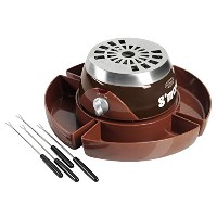 Nostalgia SMM300 Party Size Electric S'mores Maker with Roasting Forks & Storage Compartment ノスタルジア...
