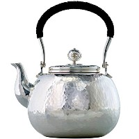 MARIAGE FRERES (マリアージュフレール) - « LOVE POT » (Hammered silver plated teapot 4 cups) 打ち出し銀ティーポットメッキ...