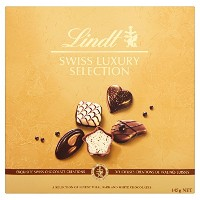 Lindt Swiss Luxury Chocolate Selection 145 g (Pack of 2)