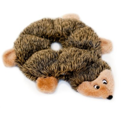 ZippyPaws Loopy 6-Squeaker Plush Dog Toy, Hedgehog by ZippyPaws