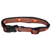 Pets First TLC-L Texas Longhorns Collar Large