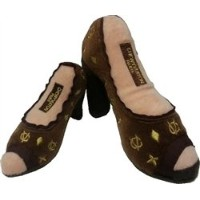 Chewy Vuiton Shoe Toy - Large by Dog Diggin Designs