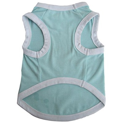Iconic Pet 91970 Pretty Pet Blue Tank Top For Dogs & Puppies - Xx Small