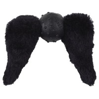 Doggles Mustache with Chops Toy for Dogs, Black by Doggles