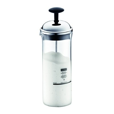 Bodum Chambord Milk Frother, Medium, 5-Ounce, Chrome by Bodum [並行輸入品]