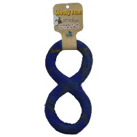 One Pet Planet Wool Dog Toy, 11-Inch, Blue by One Pet Planet