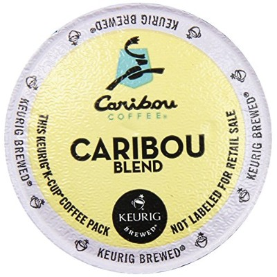Caribou Coffee, Caribou Blend, K-Cup Portion Pack for Keurig K-Cup Brewers (Pack of 48) by Caribou Coffee