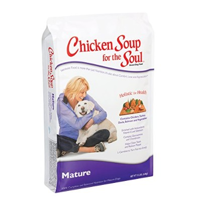 Chicken Soup for The Soul Mature Care Adult Dry Dog Food Pet Formulated 5lbs