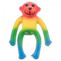 Coastal Pet Products 827981 Li L Pals Latex Monkey Dog Toy - Multicolored, 4 in.