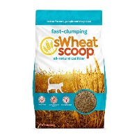 Swheat Scoop Unscented Natural Chimping Biodegradable Cat Regular Litter 14lbs