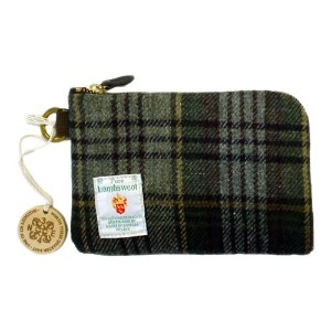 Donegal Tweed deck pouch ドネガルツイード デック ポーチ【GRAY CHECK】