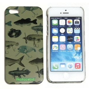 (ファッティー) Phatee I-PHONE SE/5/5S CASE ハード ケース カバー for iPhone SE/5/5s FISH