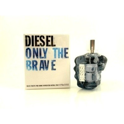 Diesel Only the Brave (ディーゼル オンリーザブレイブ) 2.5 oz (75ml) EDT Spray by Diesel for Men