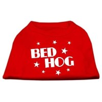 Mirage Pet Products 12-Inch Bed Hog Screen Printed Shirt, Medium, Red by Mirage Pet Products [並行輸入品]