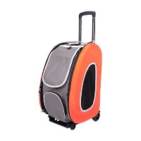 Ibiyaya 5-in-1 Combo EVA Pet Carrier/Stroller, Tangerine by Capri Tools [並行輸入品]
