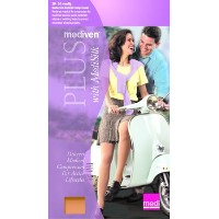 Mediven Plus, Knee-High With Top Band, 20-30mmHg, Open Toe, Compression Stocking, Beige, III by...