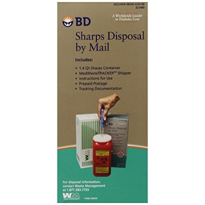 ????? BD Sharps Disposal By Mail, 1 each