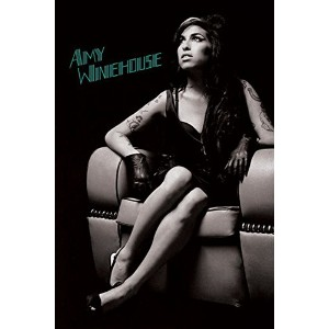 Amy Winehouse Poster Lounge Chair (61cm x 91,5cm)