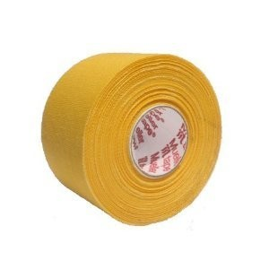 M-Tape Colored Athletic Tape - Yellow - 6 Rolls by Mueller