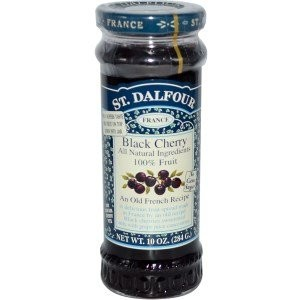St. Dalfour Rhapsodie de Fruit Black Cherry Spread No Added Sugar (284g) St.Dalfour狂詩曲?デ?果物ブラックチェリーは...