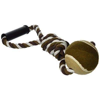 Ethical Pet Mega Twister Heavy Twisted Mega Ball Tug 17-Inch Dog Toy [並行輸入品]