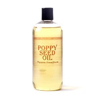 Mystic Moments | Poppy Seed Carrier Oil - 1 Litre - 100% Pure