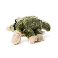 Copa Judaica Chewish Treat Platypus Facachta Squeaker Plush Dog Toy, 8.5 by 5 by 3-Inch, Multicolor...