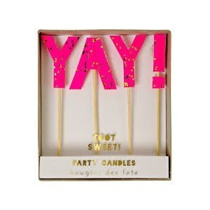 Toot Sweet YAY! Candles