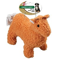 Ethical Pet Vermont Fleece Dog Toy, 10-Inch, Llama, Assorted [並行輸入品]