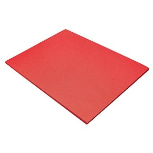 Riverside Construction Paper, 76 lbs., 18 x 24, Holiday Red, 50 Sheets/Pack (並行輸入品)