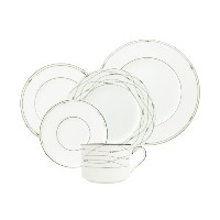 Royal Doulton Precious Platinum 5-Piece Place Setting, Service for 1 by Royal Doulton