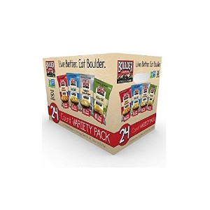 Boulder Canyon Kettle Cooked Potato Chip Variety Pack (24 Individual - 1.5 Oz Bags) of the...