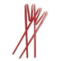 Joyce Chen 30-0090, 2-Pair Quick Sticks, Red by Joyce Chen
