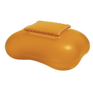 Mary Biscuit Box by Stefano Giovannoni Color: Orange
