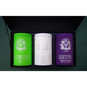 MARIAGE FRERES (マリアージュフレール) - CHEFS D'OEUVRE™ gift set / ギフトセット (3 x 100gr) 並行輸入品