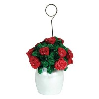 Rose Bouquet Photo/Balloon Holder Party Accessory (1 count) by Beistle
