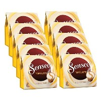 Senseo Caf Latte, New Recipe, Pack of 10, 10 x 8 Coffee Pods by Senseo [並行輸入品]