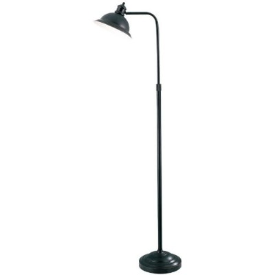 Lite Source LS-8550AGED/CP Minuteman Floor Lamp with Aged Copper Metal Shade, Aged Copper by Lite...