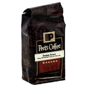 Peets Coffee, Coffee Ground Ital Roast, 12-Ounce (6 Pack) by Peet's [並行輸入品]