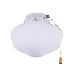 Emerson Ceiling Fan Light Fixtures CFSLK1AB Schoolhouse Light Fixture, 23-Watt Medium Base Compact...